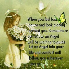 When you feel lost Angel quote