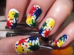 party themes for tween girls | beautiful-nail-art-style-for-party-for-teenage-girls-2013-2014