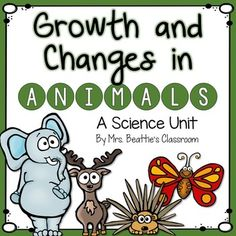 This is a complete 92-page unit for teaching about growth and changes in animals. Perfect for the Ontario Grade 2 Science curriculum!The package includes resources and activities for teaching:-the complex relationships between people an animals-the similarities and differences between and among the six animal groups-animal life cycles and metamorphosis-animal adaptations including migration, camouflage and hibernationThe unit concludes with a culminating research project in the form of an…