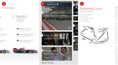 Official ESPN Formula 1 application for Windows Phone 8 devices   ESPN has released the official ESPNF1 Windows Phone application that brings the best Formula One coverage across the globe to get to the Windows Phone owners in English, Spanish and Portuguese languages - 1.0.0.0.