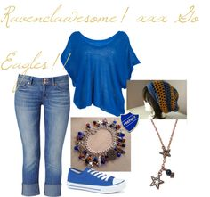 """Go Eagles!"" by hayzwhite14 on Polyvore"