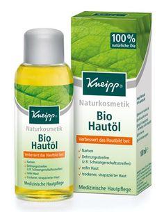 Das Kneipp Bio-Öl ist Naturkosmetik in Bio-Qualität. Kneipp Bio-Öl erfüllt viele Bedürfnisse an nachhaltige Pflege und vielseitiger Anwendung. So versorgt sie trockene Haut am ganzen Körper und schafft es, Narbengewebe und Dehnungsstreifen zu regenerieren. Denn wertvolles Grapefruitöl regt den Hautstoffwechsel an und hilft damit der Haut, sich zu erneuern. Diese Wirkung, verbunden mit der schützenden Wirkung von Olivenöl und Safloröl, macht dieses Hautöl zu etwas Besonderem.
