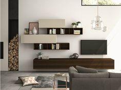 Descarga el catálogo y solicita al fabricante Slim 110 By dall'agnese, mueble modular de pared composable diseño Imago Design, Colección slim