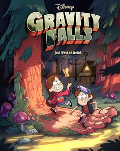 """Joe Pitt / Here's the poster for the show """"Gravity Falls"""" that I'm directing on. Poster design and BG artwork by the talented Ian Worrel. Character art by myself. I'm very proud of the talented crew we have on this show. Their hard work makes this show great. You can watch it on Disney Channel this June!"""