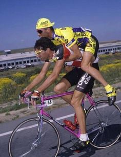 Cycling - chateau d'Ax is Italian team from 1989/ Jolly Componibili club 88 was Italian team 1990 Photo: credit - Jamis Bicycles Canada 79
