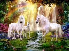 Shop for unicorn art from the world's greatest living artists. All unicorn artwork ships within 48 hours and includes a money-back guarantee. Choose your favorite unicorn designs and purchase them as wall art, home decor, phone cases, tote bags, and more! Unicorn And Fairies, Unicorn Fantasy, Unicorn Horse, Unicorn Art, Unicorn Club, Real Unicorn, Magical Creatures, Fantasy Creatures, Fantasy Kunst