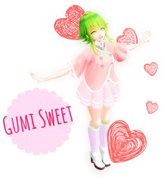 {WIP} - Sweet Candy Megpoid Gumi by SBeri.deviantart.com on @DeviantArt