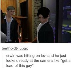 ((I'm crying at Levi's reaction to Erwin here.))