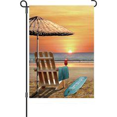 12 In Flag - Bali Sunset