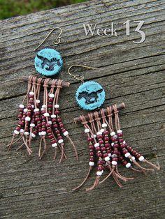Wild Ponies ~ 52 Earrings: week 13   Flickr - Photo Sharing!