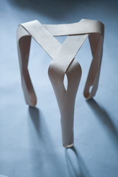 Jan Lutyk, Ribbon, stool, chair