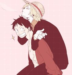 One Piece, Luffy, Sanji