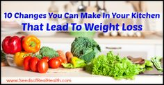 10 Changes You Can Make In Your Kitchen That Lead To Weight Loss - Seeds Of Real HealthSeeds Of Real Health |