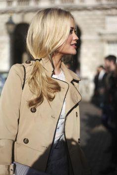 Fashion| Ponytail hairstyles | http://www.theglampepper.com/2014/02/01/fashion-ponytail-hairstyles/