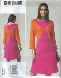 Schwarz 6-8-10-12 Vogue Schnittmuster Size AA
