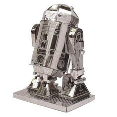 Star Wars R2-D2 Metal Earth Model Kit - Fascinations - Star Wars - WooHoo I finished mine, a couple of flaws but still good...yep still good. :)