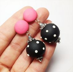 Retro style earrings | Flickr - Photo Sharing!