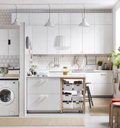 Veddinge, cuisine urbaine d'IKEA