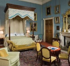 Kate's Bedroom (King William bedroom at Althorp House)