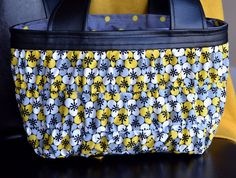 Bristol Eclipse Floral Scripture Tote by spicydesigns on Etsy, $30.00