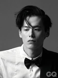 kim wonjoong for gq magazine december issue 2013 Boy Models, Male Models, Kim Won Joong, Asian Male Model, Muse Art, Face Reference, Face Expressions, Beauty Portrait, Attractive People