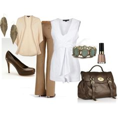 Neutral Beauty, created by missdaisyk.polyvore.com