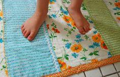 make your own bath mat