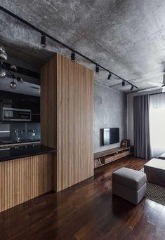 trendy ideas for home interior industrial ceilings Loft Design, Home Room Design, Living Room Designs, Kitchen Design, House Design, Apartment Interior Design, Interior Decorating, Loft Interiors, Contemporary Interior Design