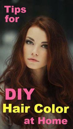 At-Home Hair Coloring Tips. | HAIR - Beautiful Hair | Pinterest ...