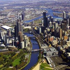 Melbourne...where I spent most of my days in Australia