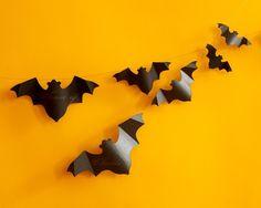 Bat Paper Garland