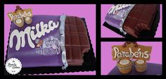 Milka Cake - The Family Cakes Chocolate Bar Cakes, Milka Chocolate, Cake Branding, Family Cake, Snack Recipes, Snacks, Chips, Desserts, Food