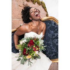 Winter wedding bridal portrait ideas. | Essence.com