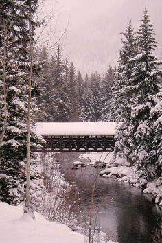 Vail, Colorado:  Covered Bridge
