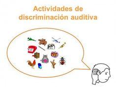 Programa de DISCRIMINACIÓN FONÉTICA  Y  MEMORIA AUDITIVA. Programa de Estimulación del Lenguaje.