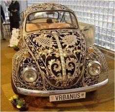 feathers, freesia & fishing tackle: Can A Vintage VW Get Any Cooler? Oh Yeah... Waaaaaaaay Cool!