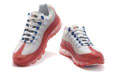 size 40 408aa 6f666 Nike Air Max 95 Кроссовки Для Жен Ин-красный-синий-белый Онлайн 3946.74руб