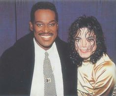 Luther Vandross and Michael Jackson.