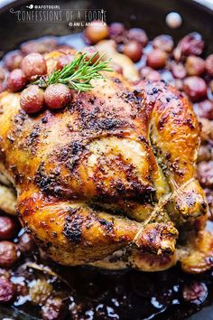 rosemary roasted chicken great for christmas dinner for more holiday ideas connect with us