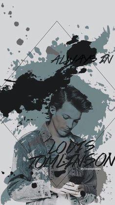 Lock screen/Wallpaper One Direction Wallpaper, Louis Tomilson, Lock Screens, Louis Williams, Zayn Malik, Lock Screen Wallpaper, All Art, Cute Cats, First Love