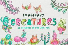 Imaginary Creatures By TWB Supply co.