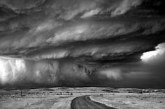 """""""The goal is to capture the structure of supercell thunderstorms, the feeling of standing in wind gusts breaching 50 MPH, the lightning, the rumble of hail. I've never seen anything like these storms before… . They are born everyday, they fight against their environment to stay alive, change their form as they age, they lose their strength, and eventually they die. The hope is that the images presented communicate how I feel while standing in front of these amazing forces of…"""