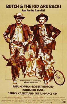 Butch Cassidy and the Sundance Kid Starring: Paul Newman, Robert Redford, Katherine Ross, Cloris Leachman, Ted Cassidy and Sam Elliott Sundance Kid, Robert Redford, Paul Newman, See Movie, Movie Tv, Cinema Paradisio, Bacharach, Katharine Ross, Westerns