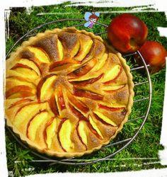 Tarte frangipane à la nectarine, Recette de Tarte frangipane à la nectarine par Mel l'a Fée
