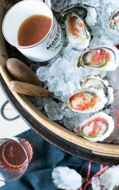 Oysters with Gingery-Lime Sauce recipe: You so fancy!