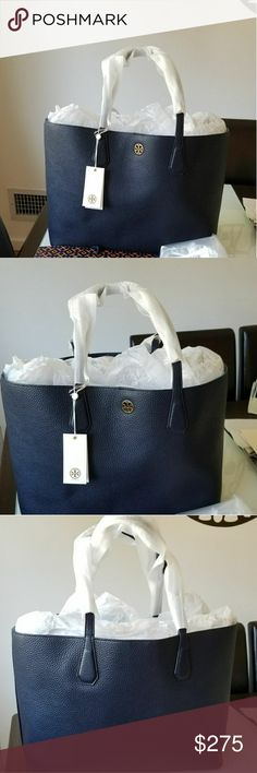 Tory Burch Perry Tote Pre-own and in excellent condition. Tory Burch Bags Totes