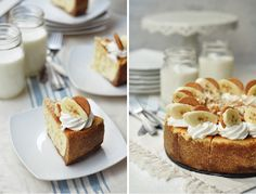 No cocktails here! All the recipes on this list are of food that benefit from a shot of bourbon. Banana Pudding Cheesecake, Cheesecake Recipes, Dessert Recipes, Fall Recipes, Wine Recipes, Yummy Recipes, Keto Recipes, Recipies, Yummy Treats