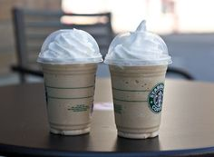 I can always drink Starbucks !! ( vinilla bean with extra whipped cream lol !! )