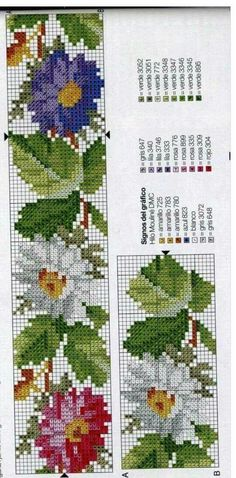 Cross Stitch Letters, Cross Stitch Bookmarks, Cross Stitch Rose, Cross Stitch Borders, Cross Stitch Baby, Cross Stitch Flowers, Cross Stitch Designs, Cross Stitching, Cross Stitch Embroidery