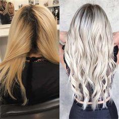 Die 14 Besten Bilder Auf Helle Haare In 2019 Haircolor Colorful